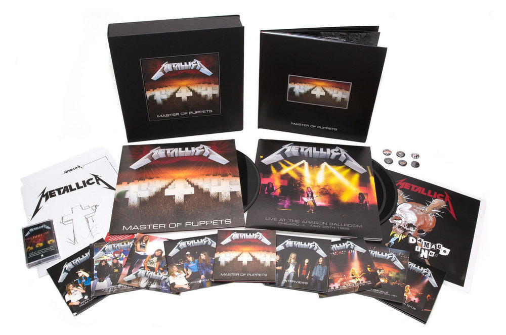 METALLICA - MASTER OF PUPPETS - REISSUE   PHOTO SOURCE - APB PR