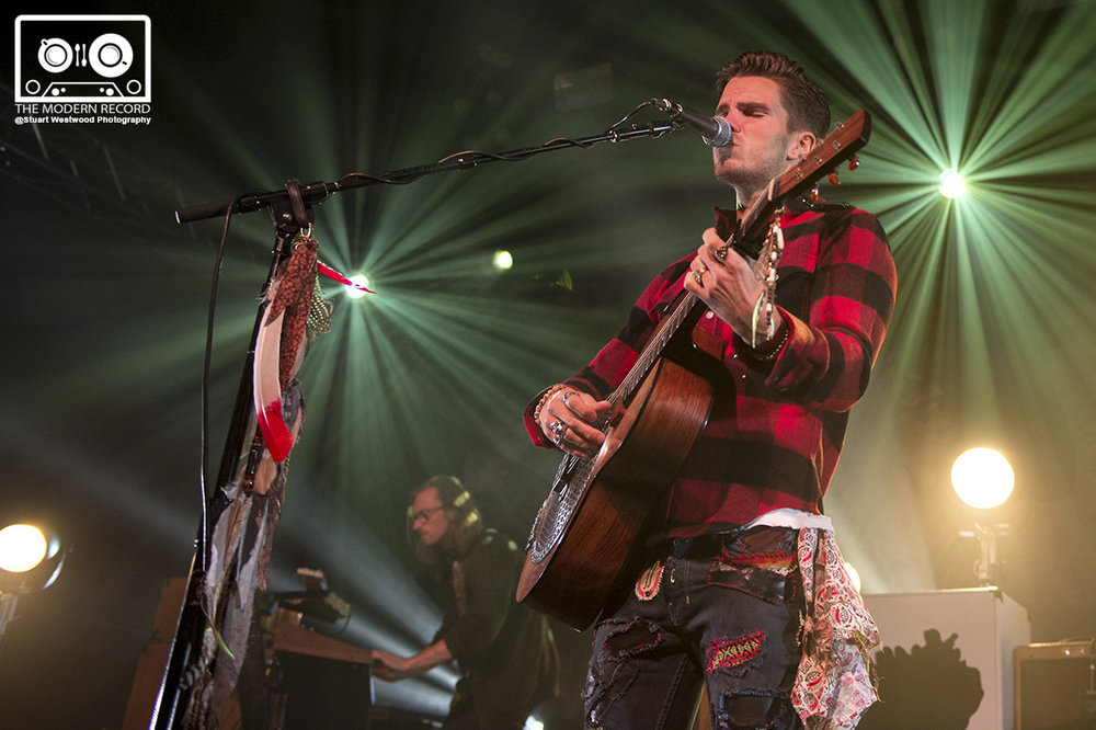 KALEO PERFORMING TO SOLD OUT CROWD AT GLASGOW'S BARROWLANDS - 03/11/2017  PICTURE BY: STUART WESTWOOD PHOTOGRAPHY