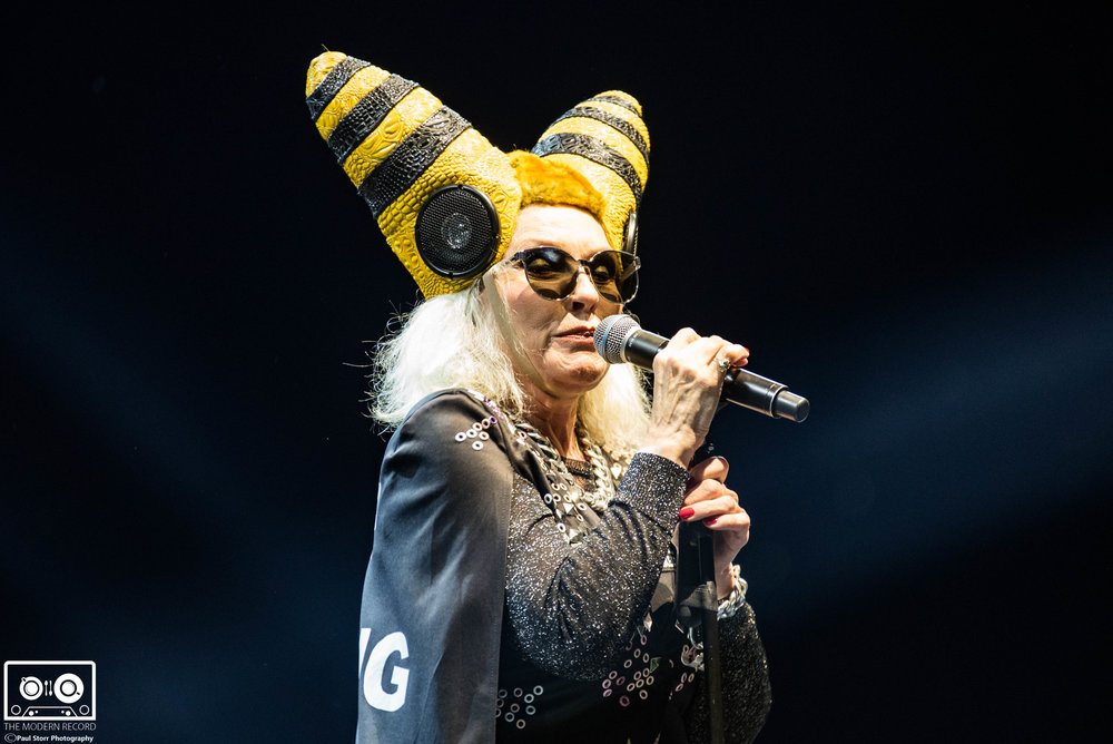 BLONDIE PERFORMING AT GLASGOW'S SSE HYDRO - 14/11/2017  PICTURE BY: PAUL STORR PHOTOGRAPHY