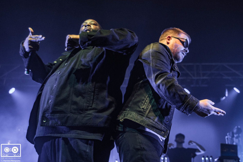 RUN THE JEWELS PERFORMING AT GLASGOW'S O2 ACADEMY - 16/11/2017  PICTURE BY: PAUL STORR PHOTOGRAPHY