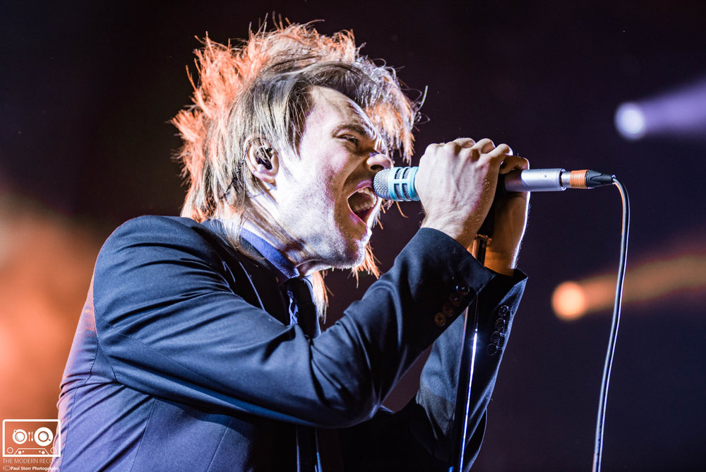 ENTER SHIKARI PERFORMING AT NEWCASTLE'S METRO RADIO ARENA - 19/11/2017  PICTURE BY: PAUL STORR PHOTOGRAPHY