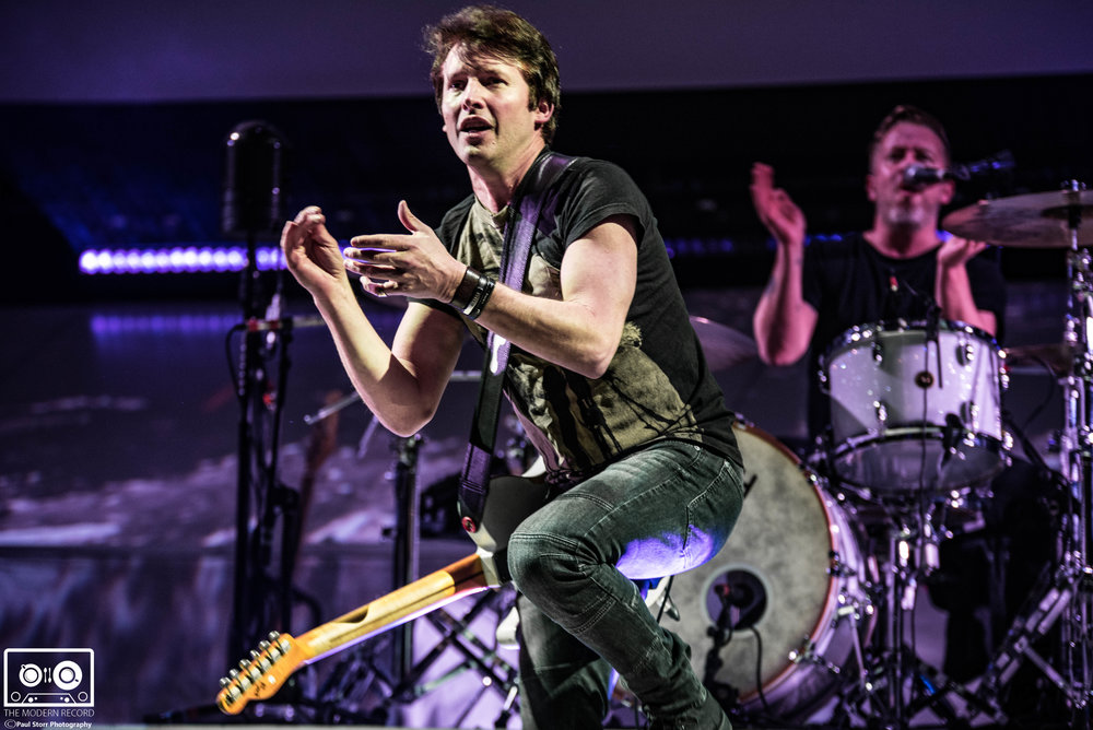 JAMES BLUNT PERFORMING AT GLASGOW'S SEC ARMADILLO - 20/11/2017  PICTURE BY: PAUL STORR PHOTOGRAPHY