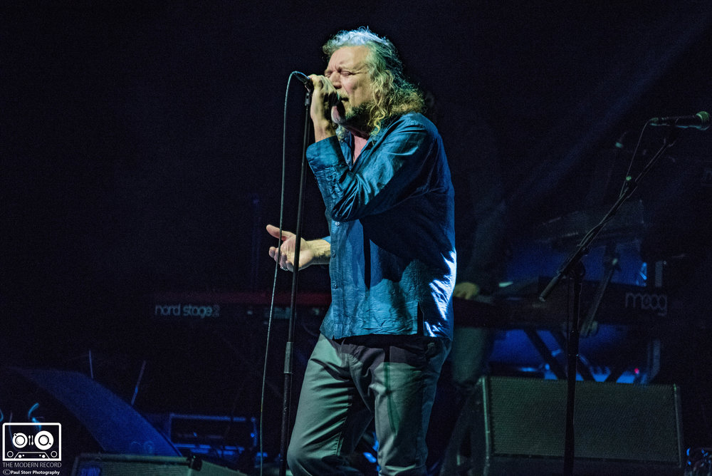 ROBERT PLANT AND THE SENSATIONAL SPACE SHIFTERS PERFORMING AT GLASGOW'S SEC ARMADILLO - 27/11/2017  PICTURE BY: PAUL STORR PHOTOGRAPHY