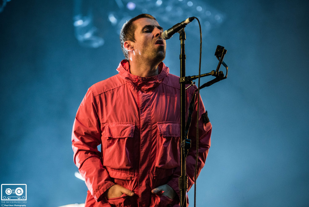 LIAM GALLAGHER PERFORMING AT GLASGOW'S SSE HYDRO - 04.12.2017  PICTURE BY: PAUL STORR PHOTOGRAPHY