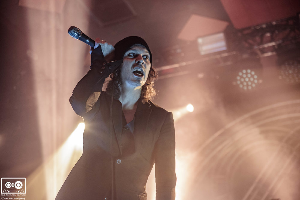 HIM PERFORMING AT GLASGOW'S BARROWLANDS - 14.12.2017  PICTURE BY: PAUL STORR PHOTOGRAPHY