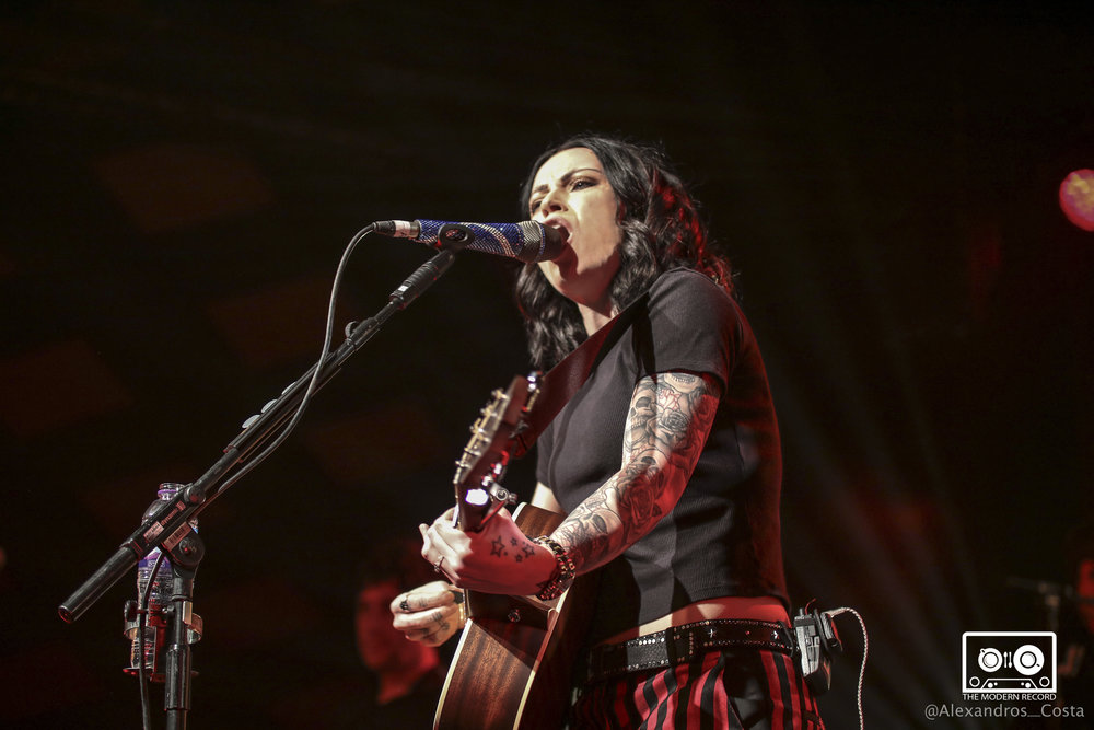 AMY MACDONALD PERFORMING AT FIRST OF TWO SHOWS AT GLASGOW'S BARROWLANDS - 15/12/2017  PICTURE BY: ALEXANDROS COSTA PHOTOGRAPHY
