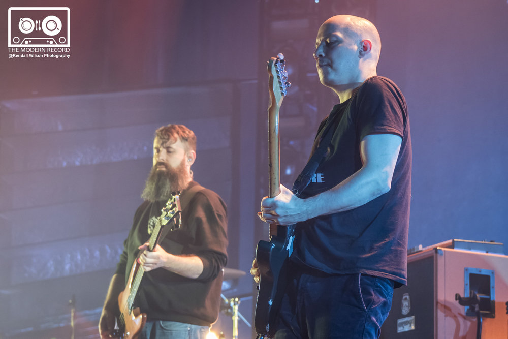 MOGWAI PERFORMING AT GLASGOW'S SSE HYDRO - 16/12/2017  PICTURE BY: KENDALL WILSON PHOTOGRAPHY