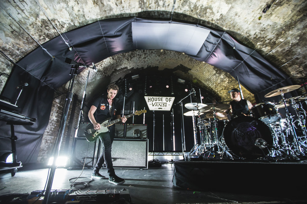 Royal Blood performing at London's House of Vans - 15/12/2017  Photo Credit: James North and James Bryant - House of Vans, London