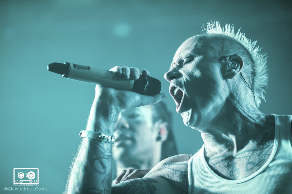 THE PRODIGY PERFORMING TO SOLD-OUT CROWD AT GLASGOW'S O2 ACADEMY - 18/12/2017  PICTURE BY: ALEXANDROS COSTA PHOTOGRAPHY
