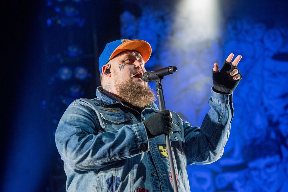 RAG 'N' BONE MAN HEADLINING CONCERT IN THE GARDEN'S AT EDINBURGH'S HOGMANAY FESTIVAL 2017/18  PICTURE BY: IAN GEORGESON PHOTOGRAPHY