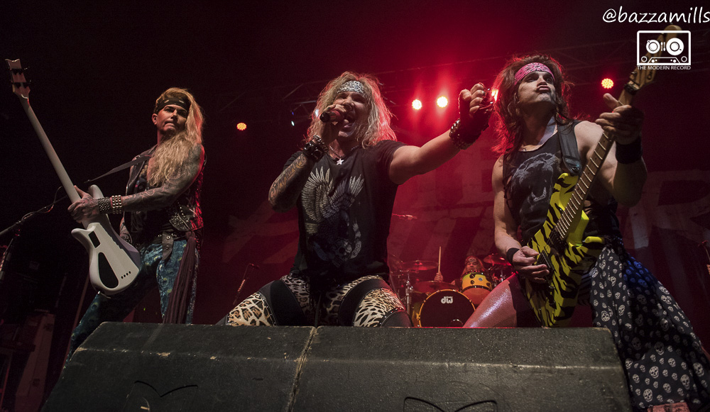 STEEL PANTHER PERFORMING AT GLASGOW'S O2 ACADEMY - 20/01/2018  PICTURE BY: BAZZA MILLS PHOTOGRAPHY