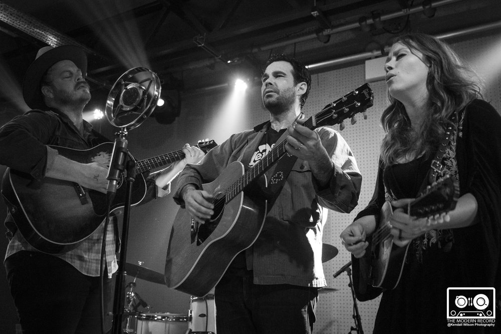 THE LONE BELLOW PERFORMING AT LEEDS'S BRUDENELL SOCIAL CLUB - 21.01.2018  PICTURE BY: KENDALL WILSON PHOTOGRAPHY