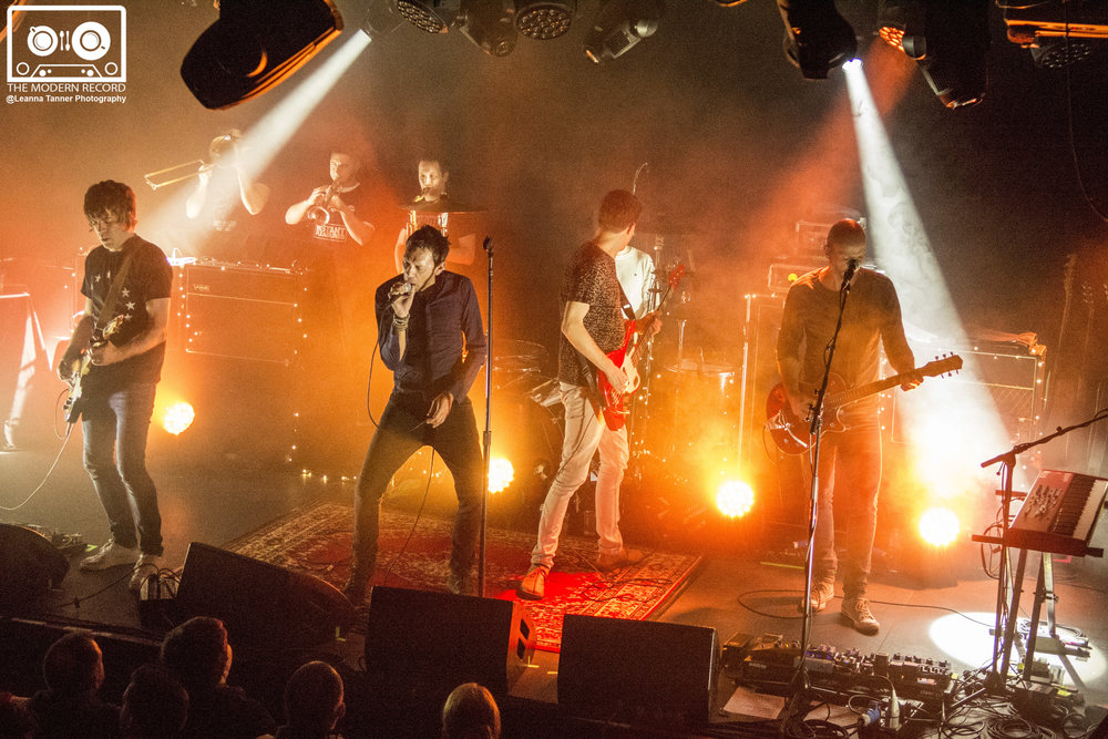 SHED SEVEN PERFORMING AT EDINBURGH'S LIQUID ROOMS - 31.01.2018  PICTURE BY: LEANNA TANNER PHOTOGRAPHY