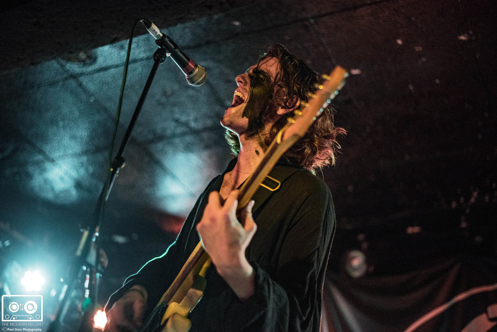 THE BLINDERS PERFORMING AT GLASGOW'S KING TUTS WAH WAH HUT - 2.2.2018  PICTURE BY: PAUL STORR PHOTOGRAPHY