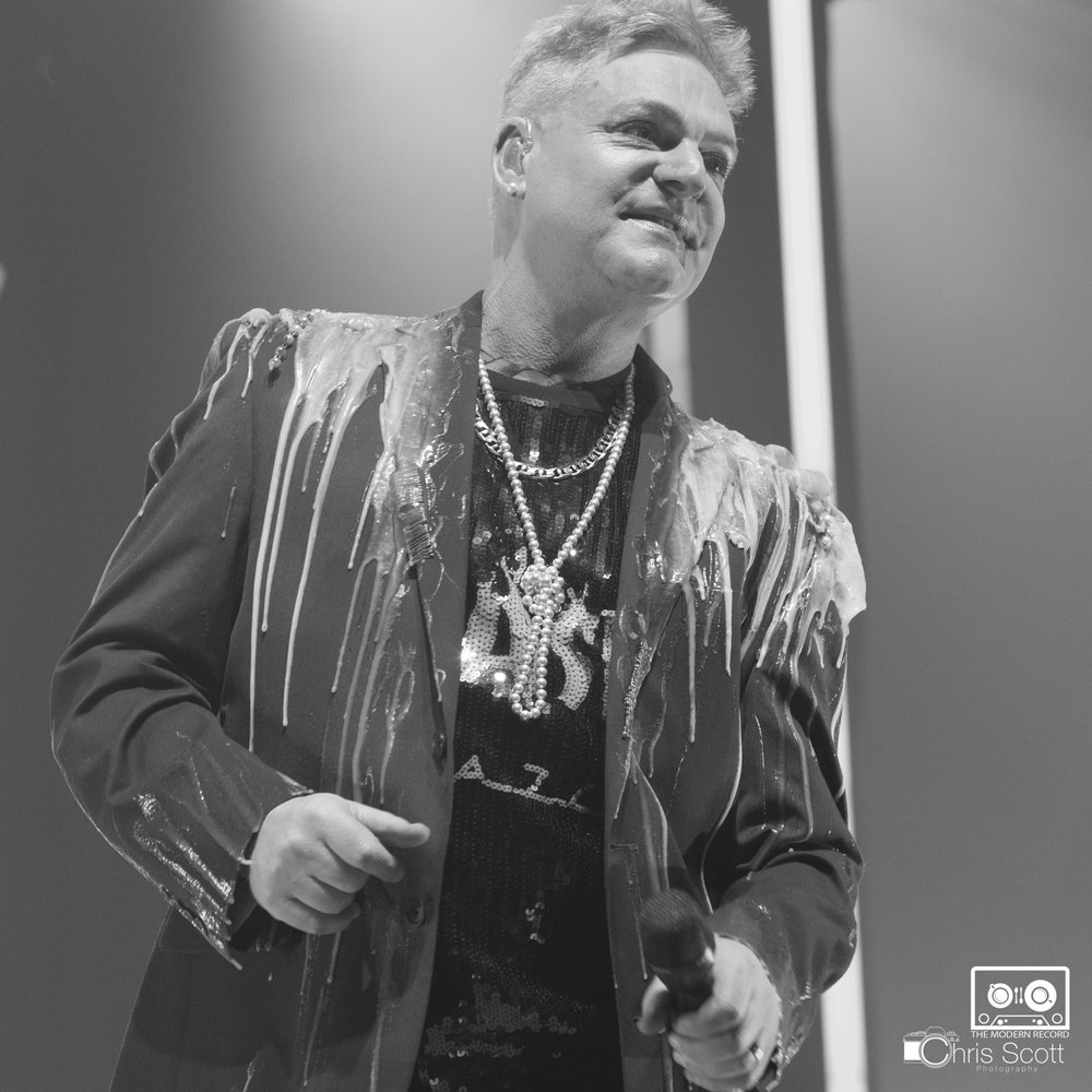 ERASURE PERFORMING AT DUNDEE'S CAIRD HALL - 02.02.18  PICTURE BY: CHRIS SCOTT PHOTOGRAPHY