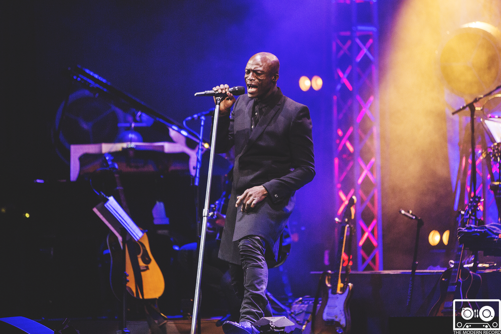 SEAL PERFORMING AT EDINBURGH'S USHER HALL - 10.02.2018  PICTURE BY: SEAN FRANCIS PHOTOGRAPHY