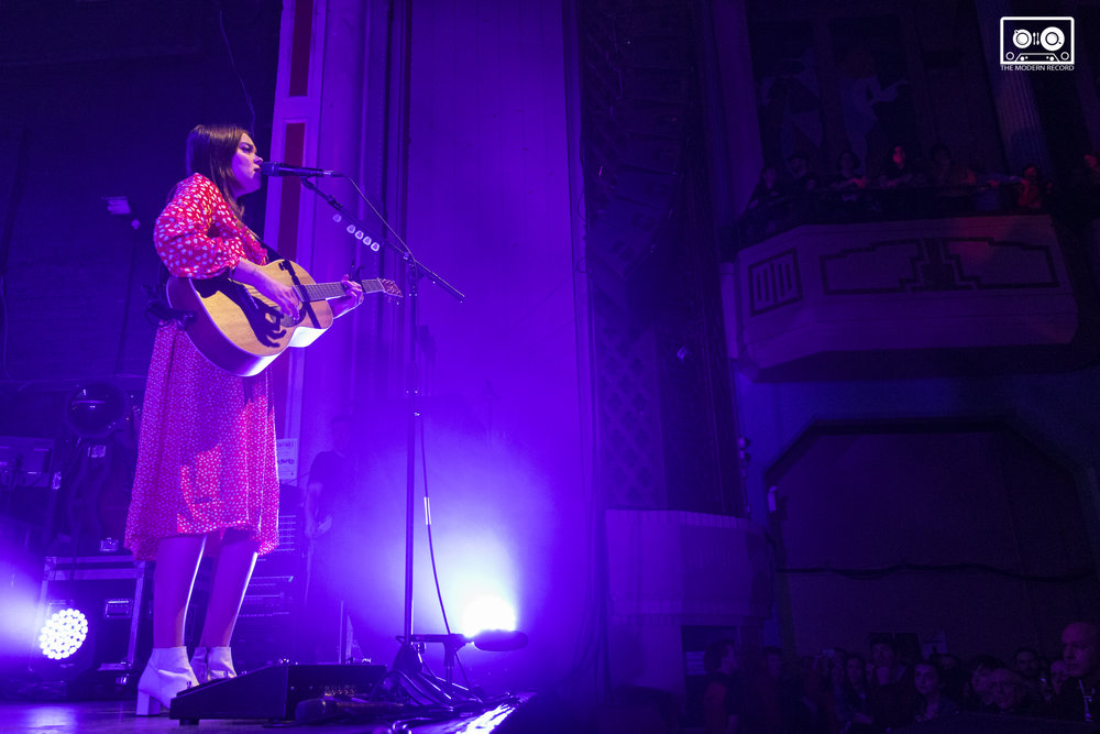 FIRST AID KIT PERFORMING AT O2 ACADEMY, GLASGOW - 24.02.18  PICTURE: KENDALL WILSON PHOTOGRAPHY