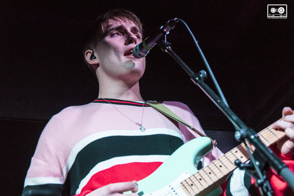 SAM FENDER PERFORMING AT THE GARAGE (ATTIC BAR), GLASGOW - 25.02.18  PICTURE: KENDALL WILSON PHOTOGRAPHY