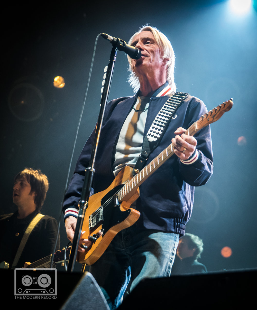 PAUL WELLER PERFORMING AT GLASGOW'S SSE HYDRO, GLASGOW - 25.02.2018  PICTURE BY: STEPHEN WILSON PHOTOGRAPHY