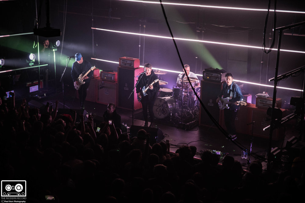 MOOSE BLOOD PERFORMING AT GLASGOW'S QMU - 5.3.2018  PICTURE BY: PAUL STORR PHOTOGRAPHY