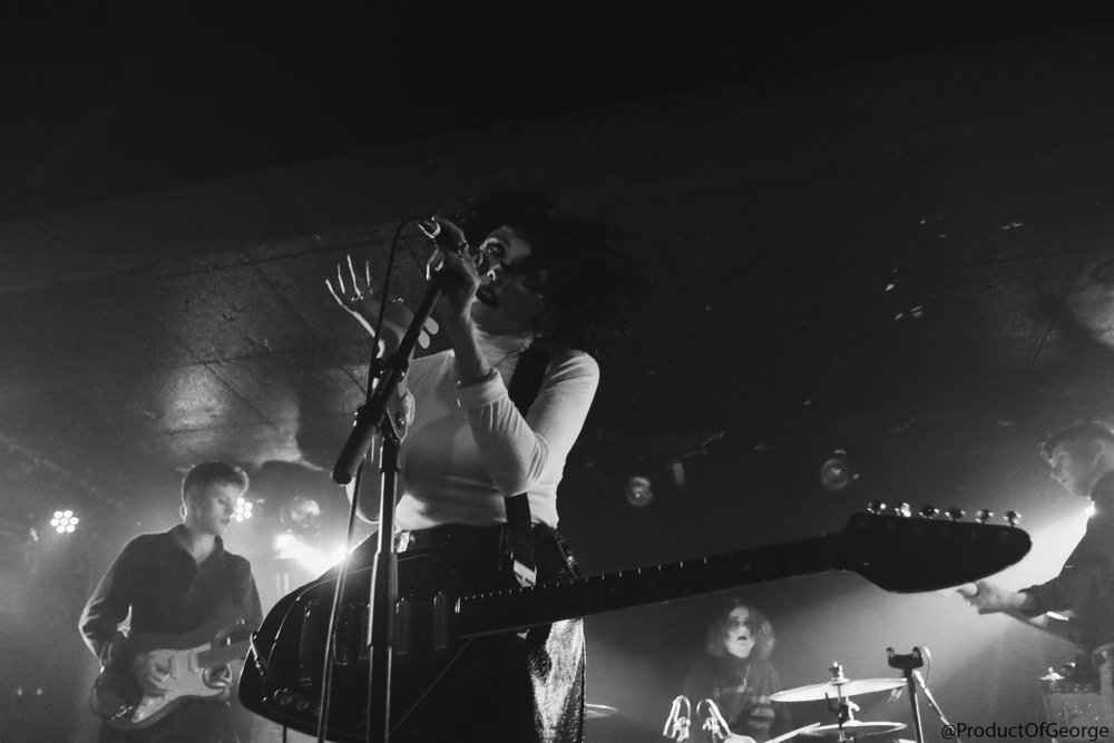 PALE WAVES PERFORMING AT KING TUT'S WAH WAH HUT, GLASGOW - 4.3.18   PICTURE: GEORGE MCFAYDEN PHOTOGRAPHY