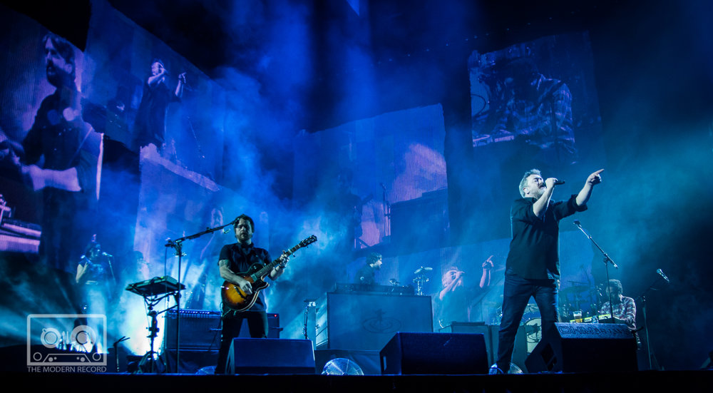ELBOW PERFORMING AT SSE HYDRO, GLASGOW - 5.3.18   PICTURE: STEPHEN WILSON PHOTOGRAPHY