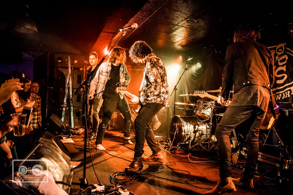 THE GLORIOUS SONS PERFORMING AT KING TUT'S WAH WAH HUT, GLASGOW - 7.3.18   PICTURE: STEPHEN WILSON PHOTOGRAPHY