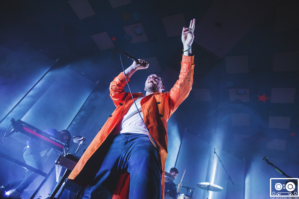 EVERYTHING EVERYTHING PERFORMING AT BARROWLANDS, GLASGOW - 8.3.18   PICTURE: SEAN FRANCIS PHOTOGRAPHY