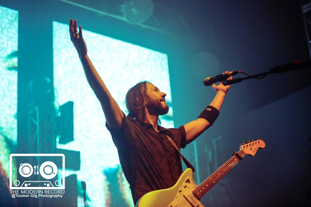 FEEDER PERFORMING AT LEEDS O2 ACADEMY - 13-03-18  PICTURE BY: LAURA TOOMER @ToomerGigPhotography