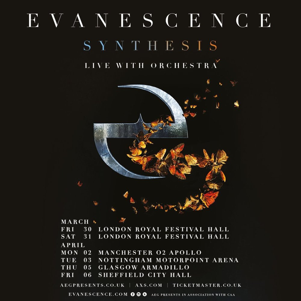 Evanescence Return With Fourth Studio Album Synthesis On November