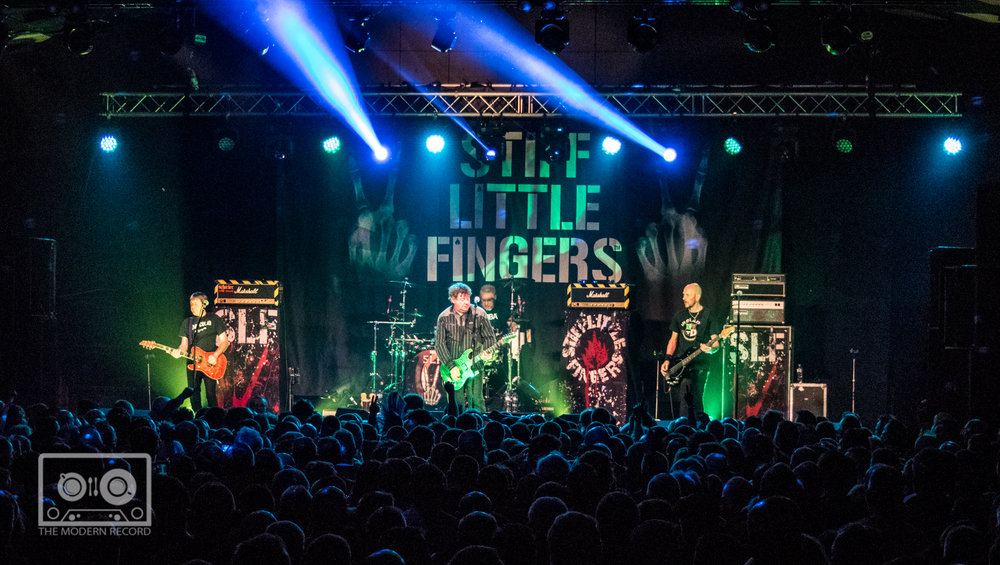 STIFF LITTLE FINGERS PERFORMING AT BARROWLANDS, GLASGOW - 17.3.18   PICTURE: STEPHEN WILSON PHOTOGRAPHY