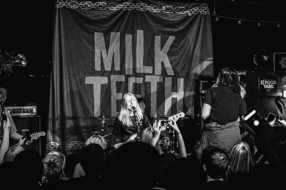 MILK TEETH PERFORMING AT MAMA ROUX'S, BIRMINGHAM   PICTURE: TOM GODDARD PHOTOGRAPHY