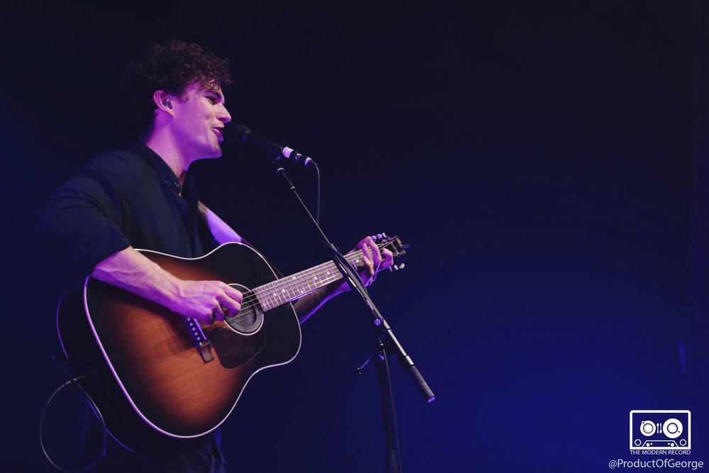 VANCE JOY PERFORMING AT GLASGOW'S O2 ABC - 22.03.2018  PICTURE BY: PRODUCT OF GEORGE PHOTOGRAPHY