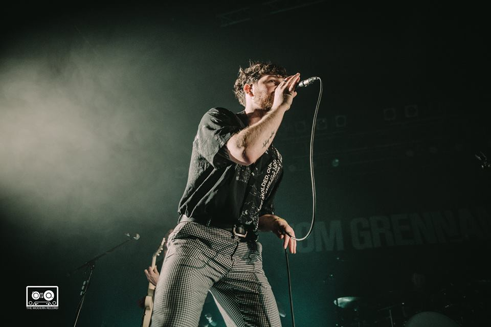 TOM GRENNAN PERFORMING AT GLASGOW'S O2 ABC - 23.03.2018  PICTURE BY: ALANNAH MCCLYMONT PHOTOGRAPHY