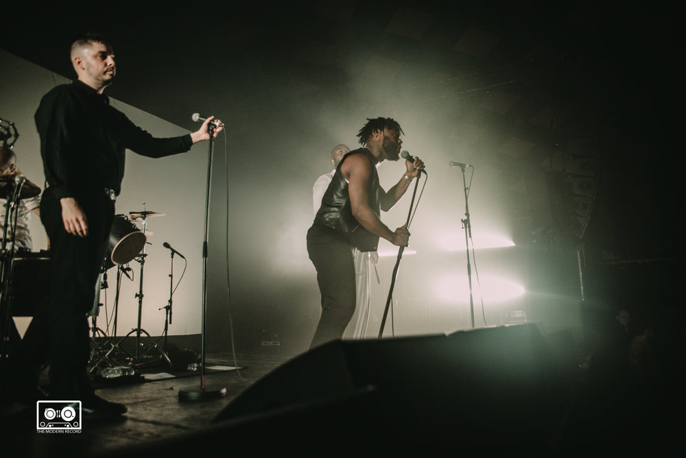 YOUNG FATHERS PERFORMING AT BARROWLANDS, GLASGOW - 24.03.2018  PICTURE BY: ALANNAH MCCLYMONT PHOTOGRAPHY