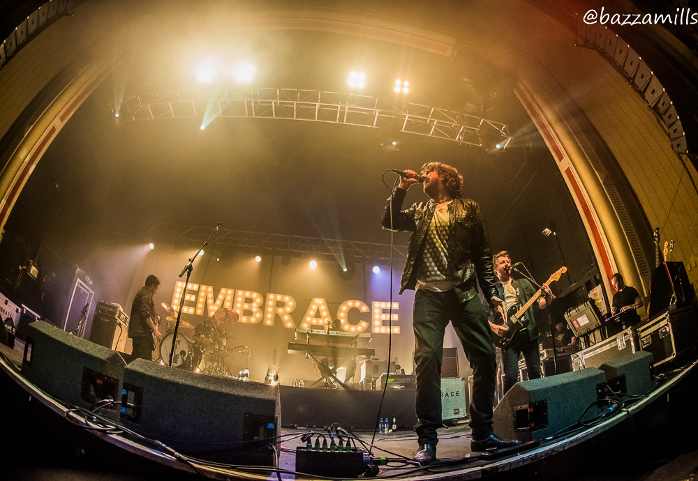EMBRACE PERFORMING AT O2 ACADEMY, GLASGOW - 28.03.18   PICTURE: BAZZA MILLS PHOTOGRAPHY