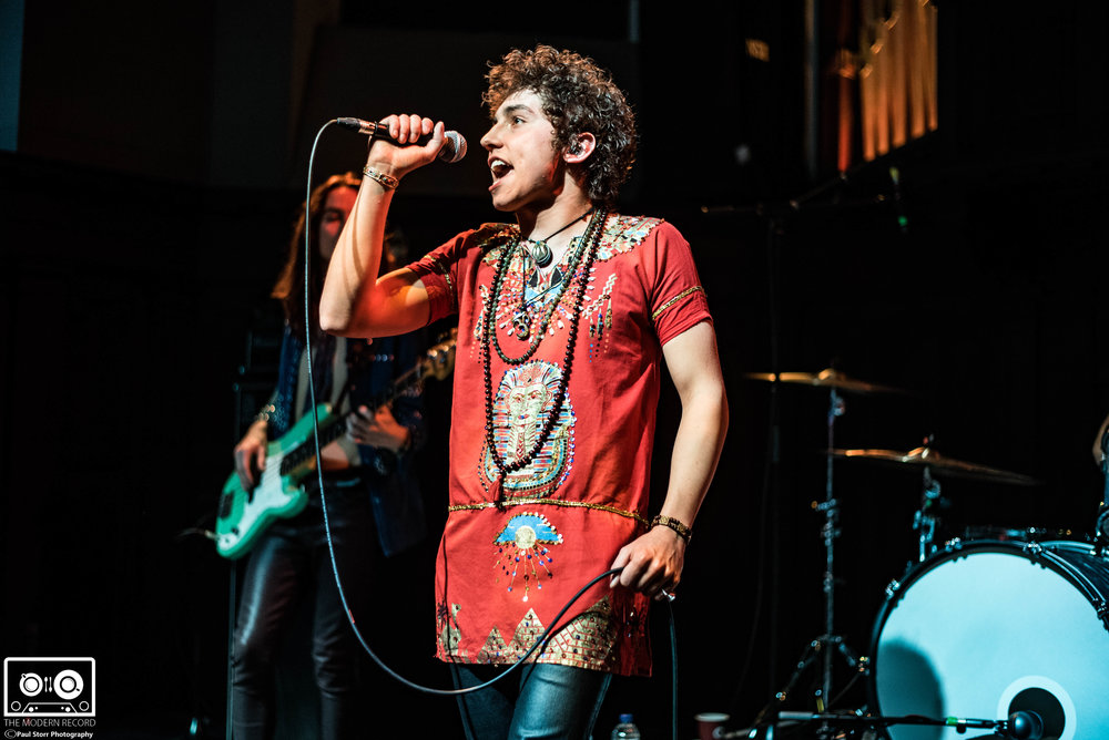 GRETA VAN FLEET PERFORMING AT GLASGOW'S ST LUKE'S - 1.4.2018  PICTURE BY: PAUL STORR PHOTOGRAPHY