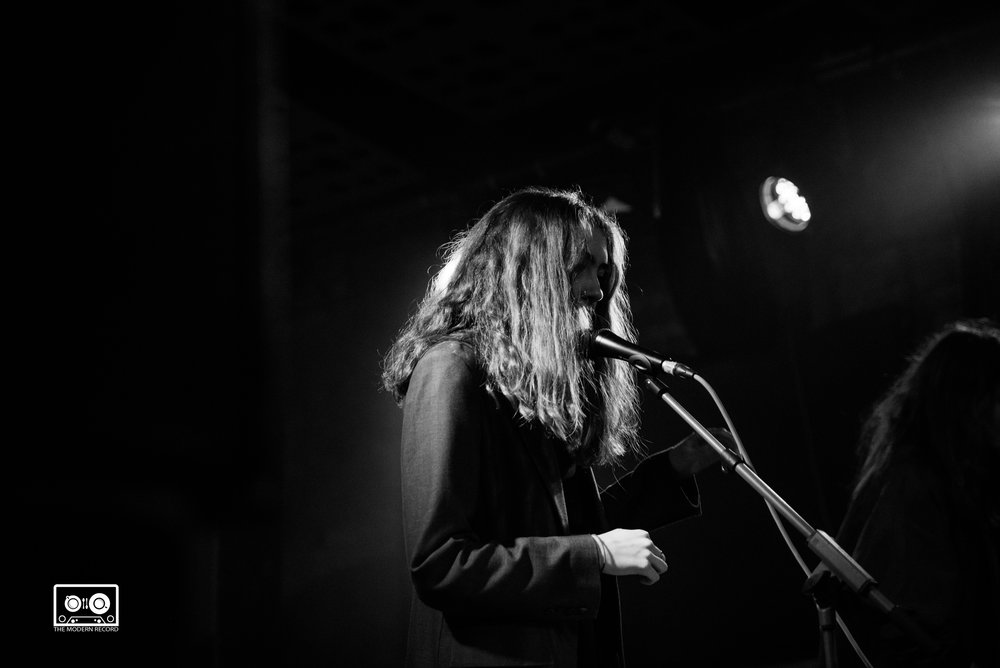 LETS EAT GRANDMA PERFORMING AT STEREO CAFE BAR, GLASGOW - 04.04.18                                                                                                      PICTURE: ALANNAH MCCLYMONT PHOTOGRAPHY