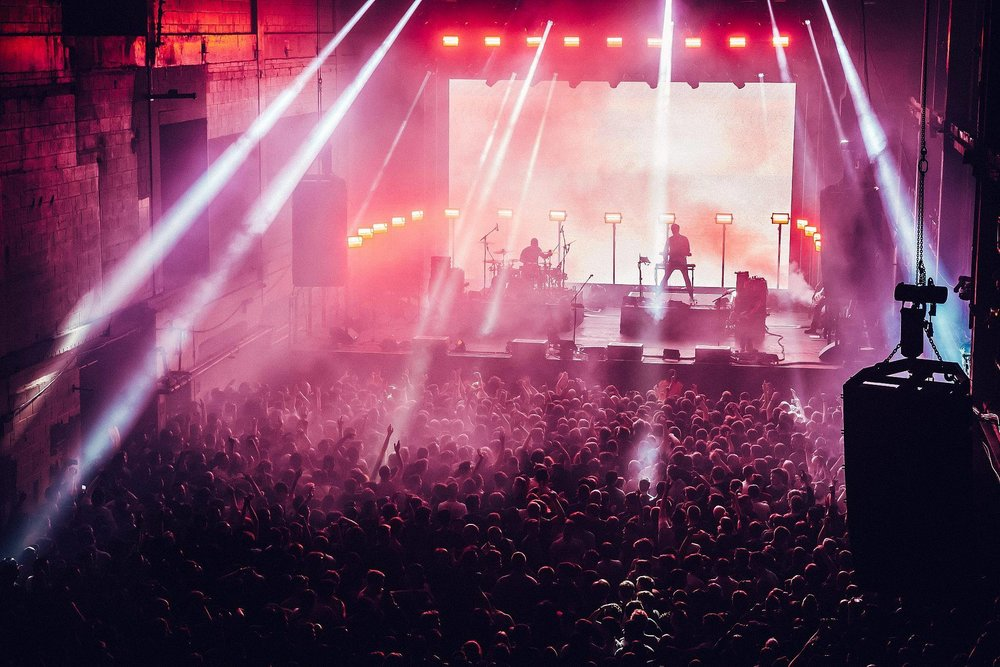 PENDULUM PERFORMING AT PRINTWORKS, LONDON - 14.04.18                                                                                                                             PICTURE: LUKE DYSON