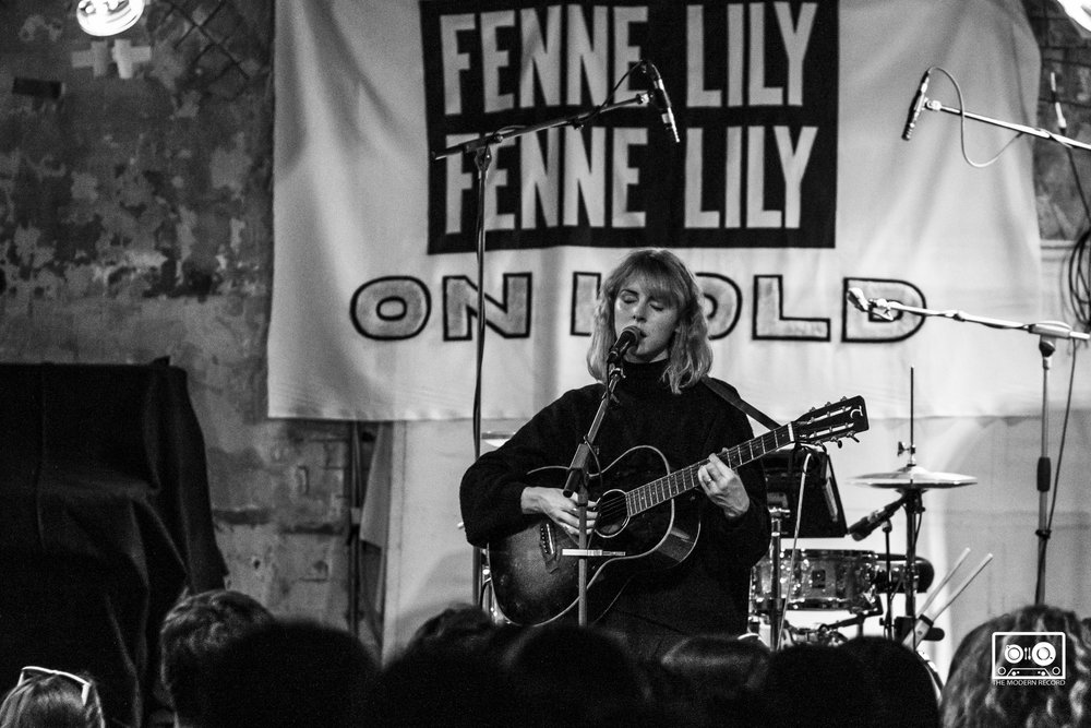 FENNE LILY PERFORMING AT STEREO CAFE BAR, GLASGOW - 13.04.18                                                          PICTURE:KENDALL WILSON PHOTOGRAPHY