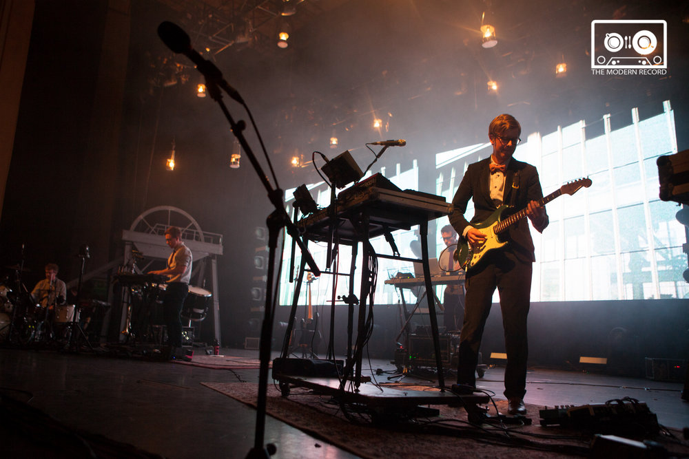 PUBLIC SERVICE BROADCASTING PERFORMING AT EDINBURGH'S USHER HALL - 14.04.2018  PICTURE BY: CALUM MACKINTOSH PHOTOGRAPHY