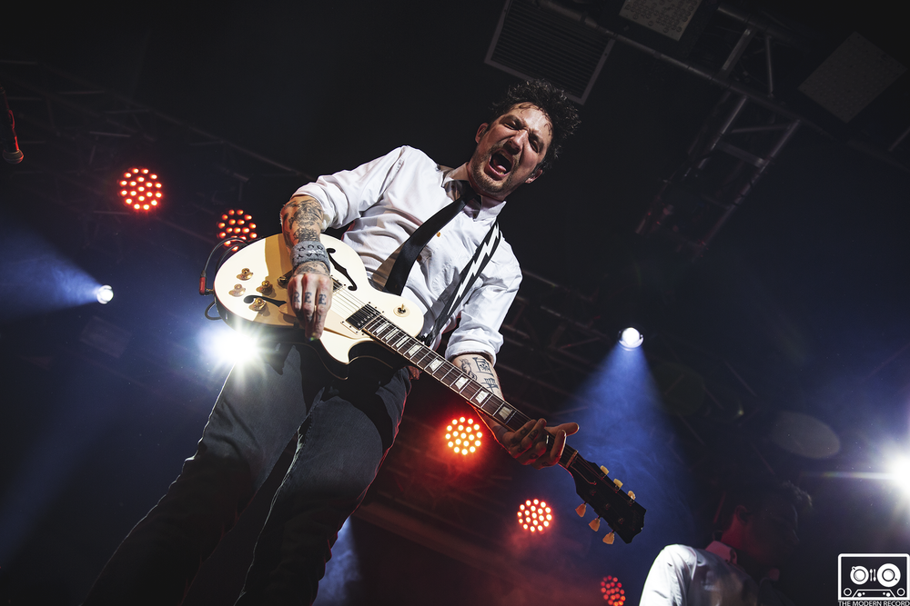 FRANK TURNER & THE SLEEPING SOULS PERFORMING AT EDINBURGH'S LIQUID ROOMS - 21.04.2018  PICTURE BY: SEAN FRANCIS PHOTOGRAPHY