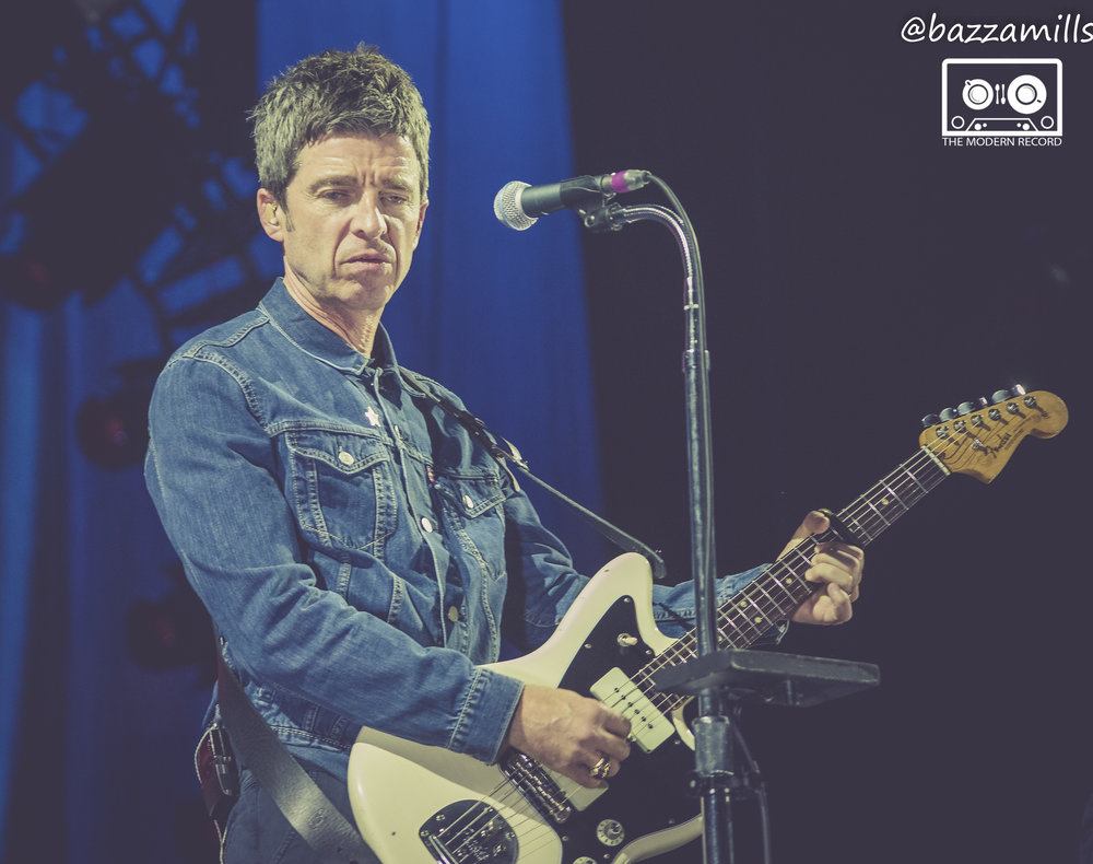NOEL GALLAGHER'S HIGH FLYING BIRDS PERFORMING AT GLASGOW'S SSE HYDRO - 24.04.2018  PICTURE BY: BAZZA MILLS PHOTOGRAPHY