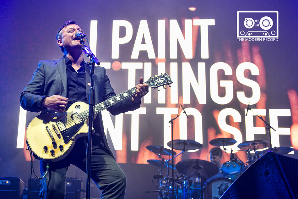 MANIC STREET PREACHERS PERFORMING AT GLASGOW'S SSE HYDRO - 25.04.18  PICTURE BY: STUART WESTWOOD PHOTOGRAPHY @AMAZINGMUSICPIX