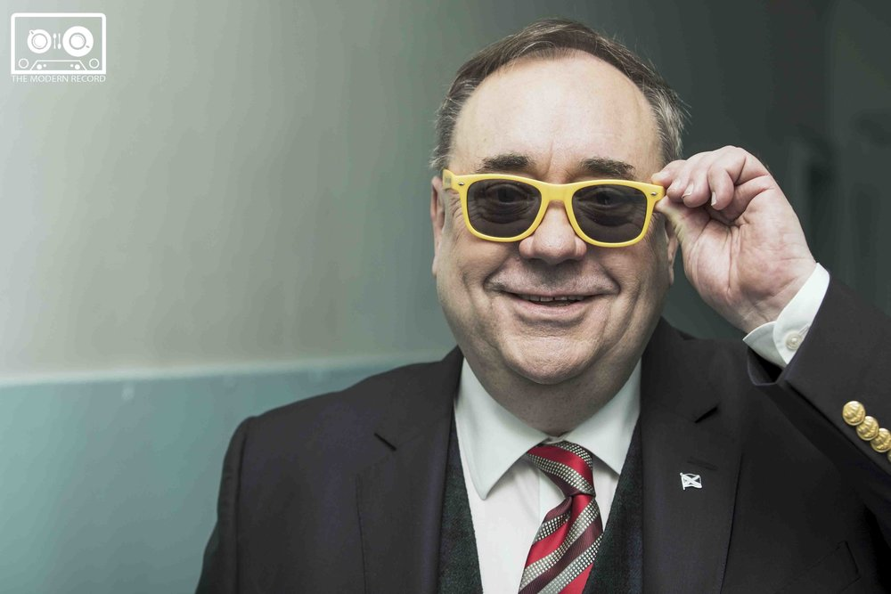 AN EVENING WITH... ALEX SALMOND AT DUNDEE'S CAIRD HALL - 27.04.2018  PICTURE BY: CHRIS SCOTT PHOTOGRAPHY