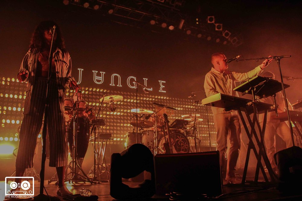 JUNGLE PERFORMING AT GLASGOW'S O2 ABC - 03.05.2018  PICTURE BY: DAWN HEARSUM PHOTOGRAPHY