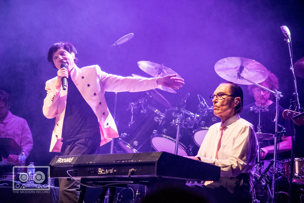 SPARKS PERFORMING AT O2 ACADEMY, GLASGOW - 22.05.18                                                                                                                                              PICTURE: STEPHEN WILSON PHOTOGRAPHY