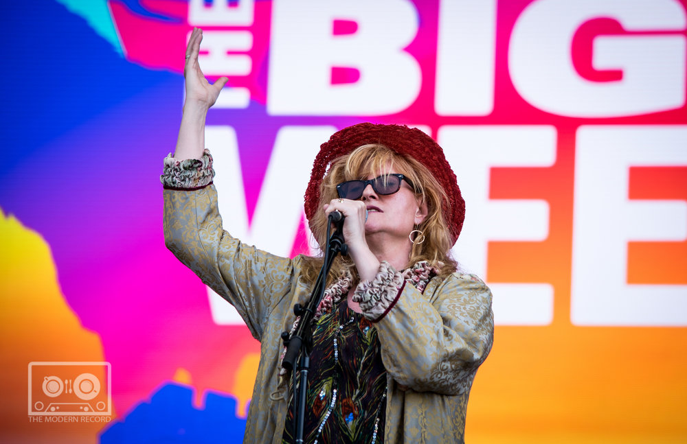 EDDI READER PERFORMING AT BBC BIGGEST WEEKEND IN PERTH - 25.05.2018  PICTURE BY: STEPHEN WILSON PHOTOGRAPHY