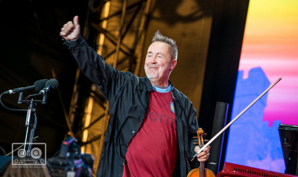 NIGEL KENNEDY CLOSING DAY ONE AT BBC BIGGEST WEEKEND IN PERTH - 25.05.2018  PICTURE BY: STEPHEN WILSON PHOTOGRAPJY