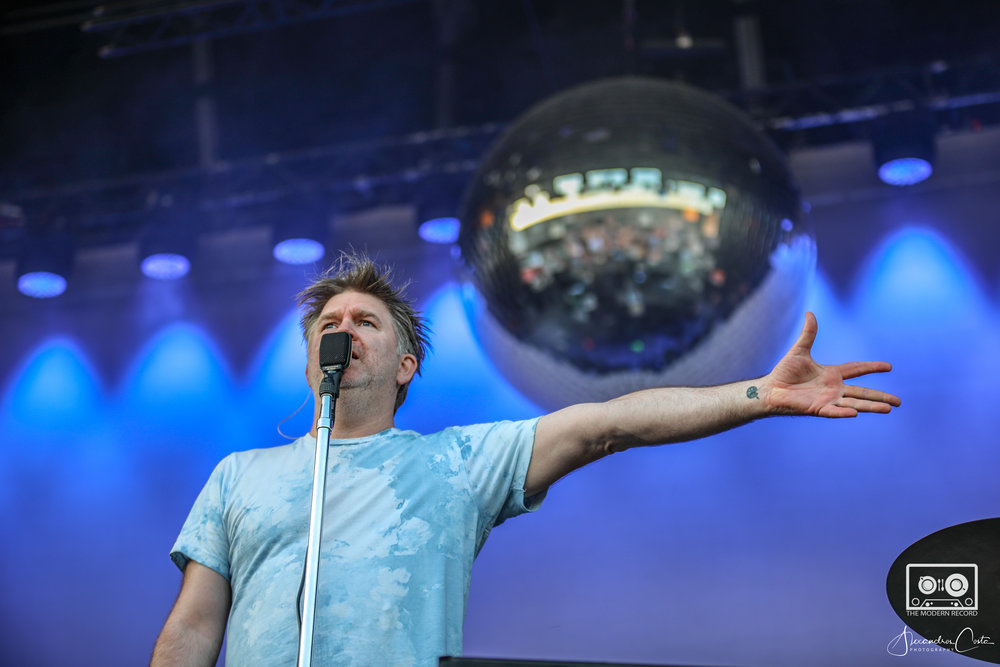 LCD SOUNDSYSTEM PERFORMING AT SWG3 GALVANIZERS YARD, GLASGOW - 27.05.18  PICTURE BY: ALEXANDROS COSTA PHOTOGRAPHY